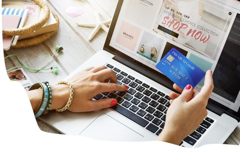 Online shopping - Be online