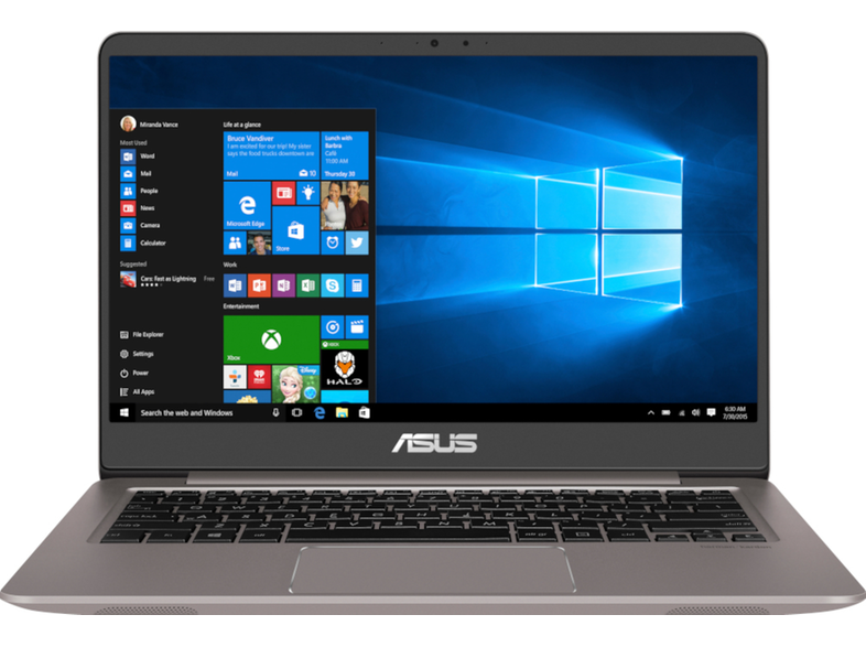 ASUS ZenBook 14 Quartz Grey UX410UA-GV646T Intel i5-8250U / 8GB / 256GB / UHD 620 / Full HD