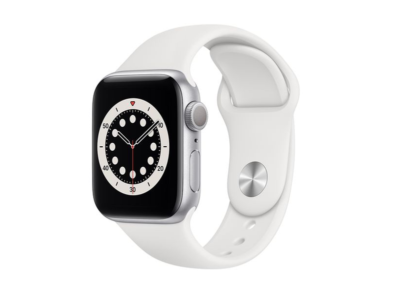APPLE Watch Series 6 40mm Silver White Sportband