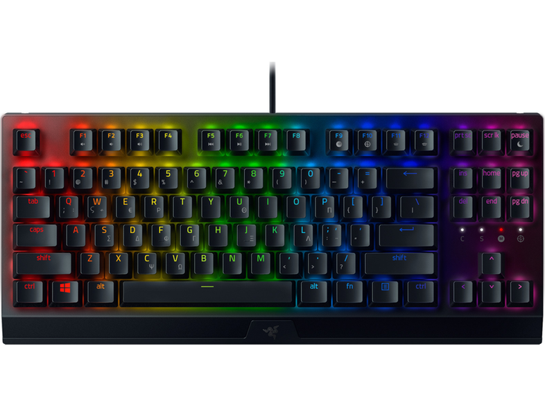 RAZER BlackWidow V3 Tenkeyless Mechanical Green Switches