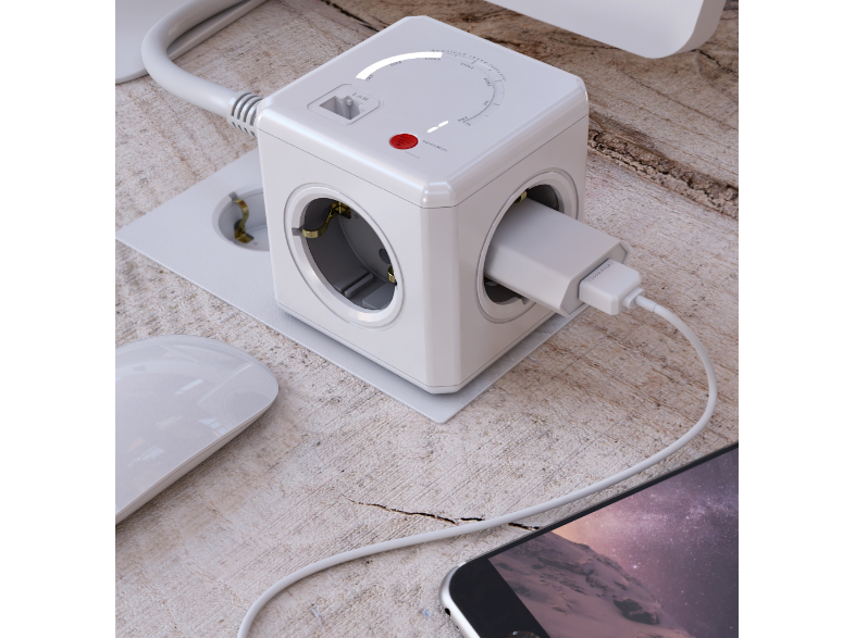 ALLOCACOC Powercube extended wifi 1.5mm2
