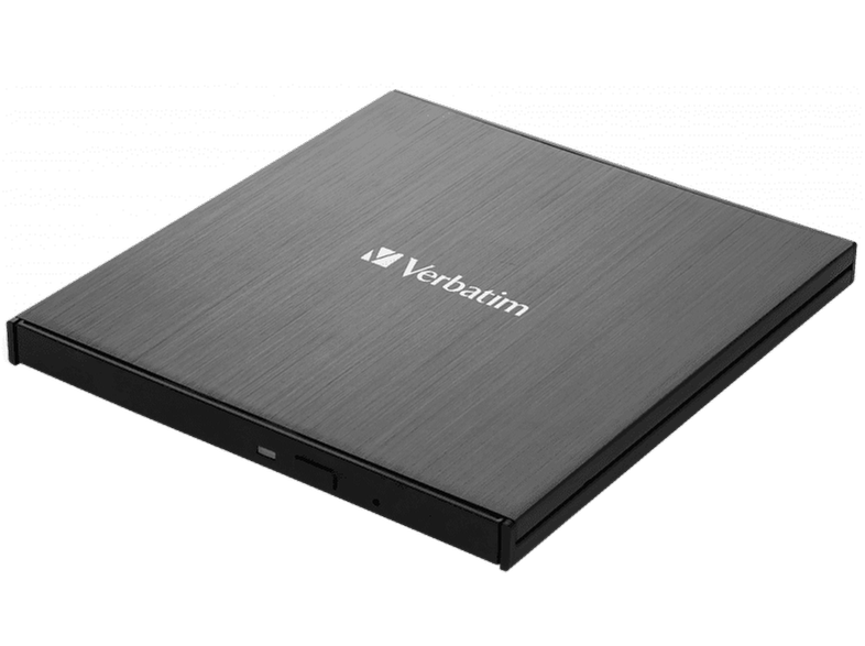 VERBATIM External Slimline CD/DVD Writer με USB-C 3.2 Gen1