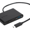TARGUS USB Type C to HDMI/USB-C/USB-A Black - (ACA929EU)