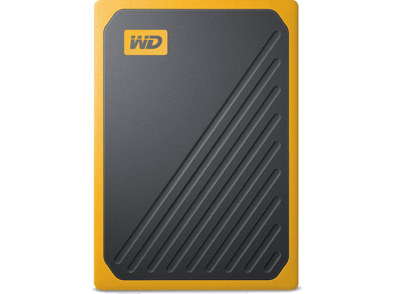 WD My Passport Go SSD 500GB External USB 3.0  Amber up to 500MB/s