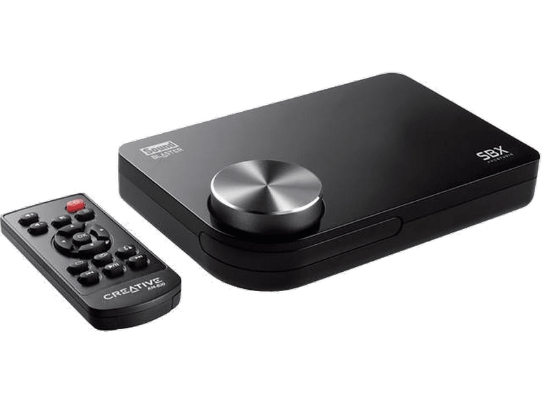 CREATIVE Sound Blaster X-Fi Surround 5.1 Pro - USB External Sound Card