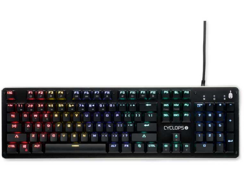 SPARTAN Gear Cyclops 2 Wired Mechanical Gaming Keyboard