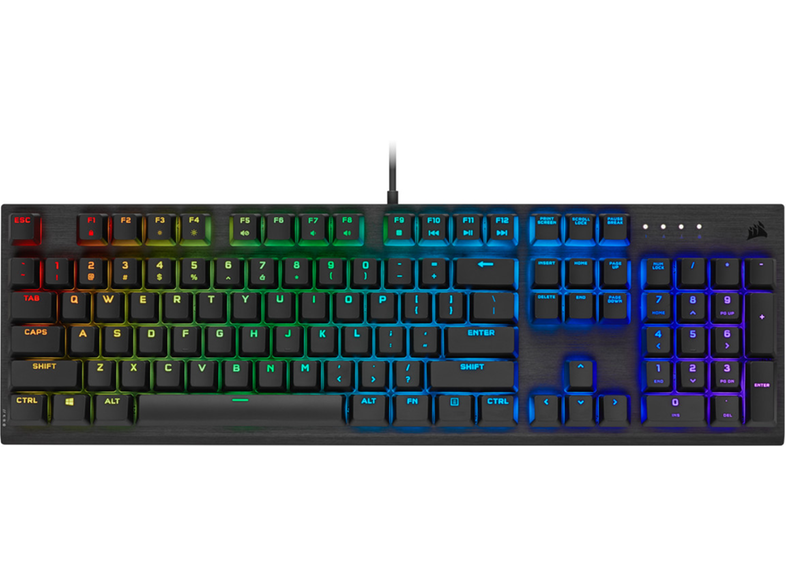 CORSAIR K60 Pro Cherry Viola - Black
