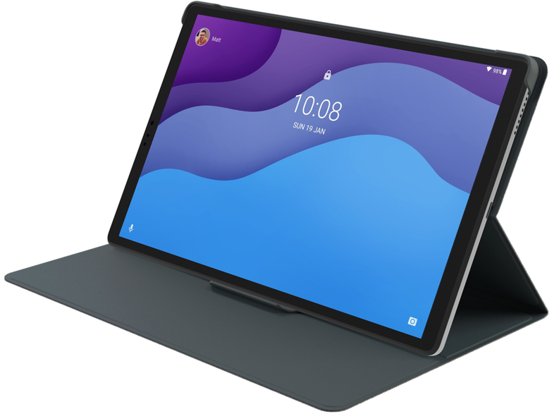 LENOVO Tab M10 2nd Generation Tablet 10.1 inch 64GB WiFi Icon Grey με θήκη