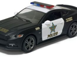 KIN Ford Mustang GT 2015 Police 1:38