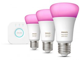 PHILIPS HueWhite and Color Ambiance Starter Kit E27 (3 x Pack) | Be Online