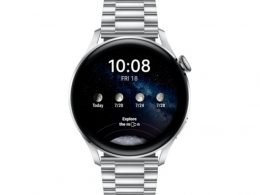 HUAWEI Watch 3 46mm 4G Classic Edition Black | Be Online